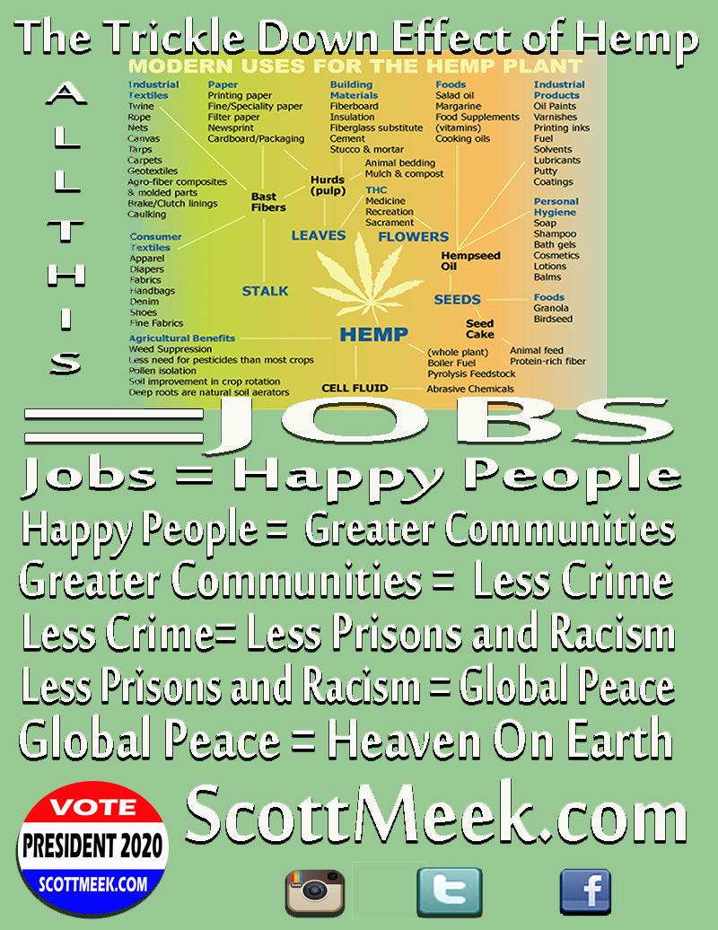 hemp for victory 2020 presidential campaign hope for the world